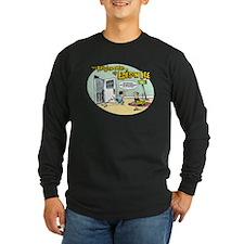 Ben Franklin Long Sleeve Dark T-Shirt