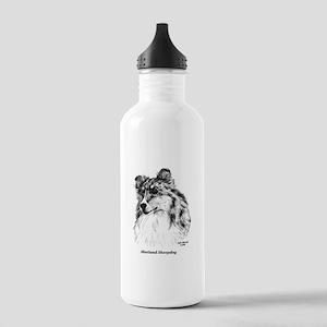 Shetland Sheepdog Stainless Water Bottle 1.0L