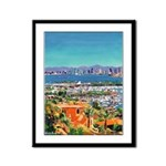 View of San Diego Framed Panel Print