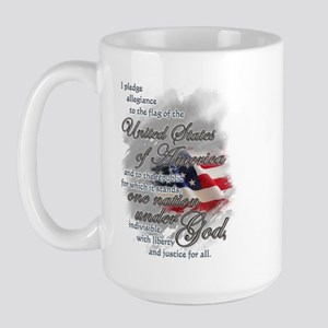 US Pledge - Large Mug