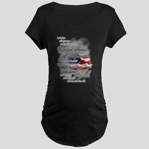 US Pledge - Maternity Dark T-Shirt