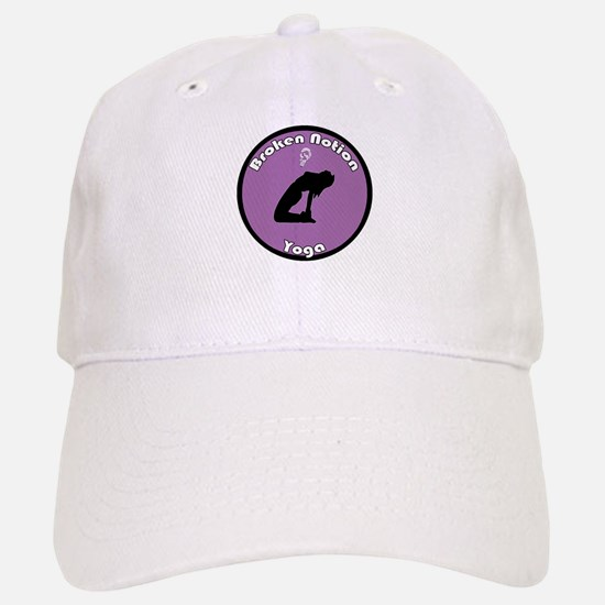 Broken Notion Yoga (pink) Baseball Baseball Cap