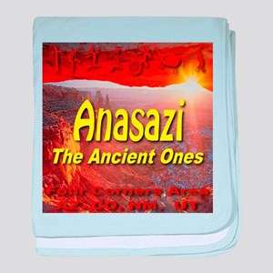 Anasazi The Ancient Ones baby blanket