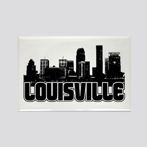 Louisville Skyline Rectangle Magnet