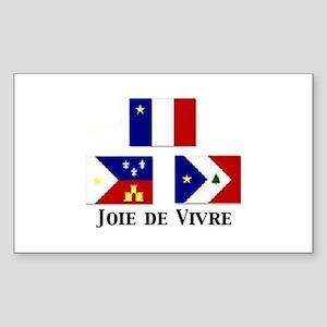 Joie de Vivre Sticker (Square)