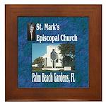 ST. Mark's Episcopal Church Framed Tile