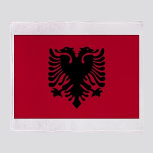 Albania Throw Blanket