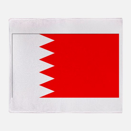 Bahrain Throw Blanket