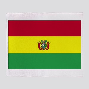 Bolivia Throw Blanket