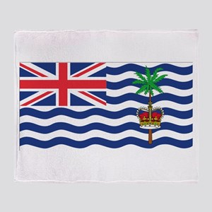 British Indian Ocean Territor Throw Blanket