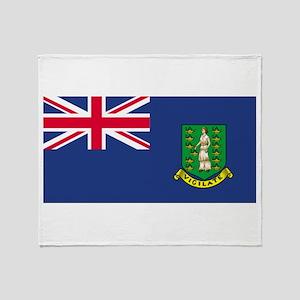 British Virgin Islands Throw Blanket