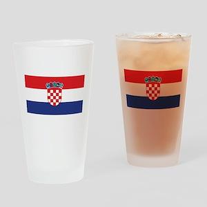Croatia Pint Glass