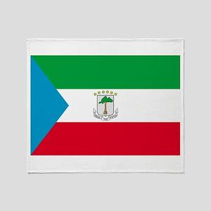 Equatorial Guinea Throw Blanket