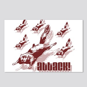 Flying Squirrels Postcards (Package of 8)