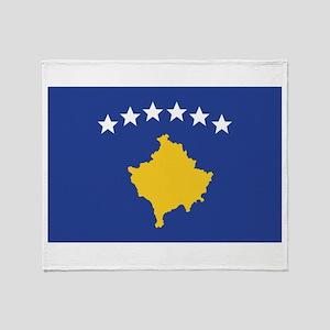 Kosovo Throw Blanket