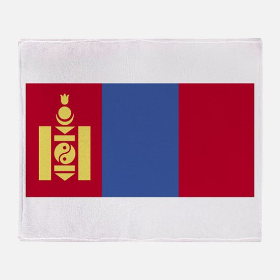 Mongolia Throw Blanket
