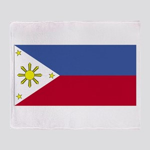 Philippines Throw Blanket