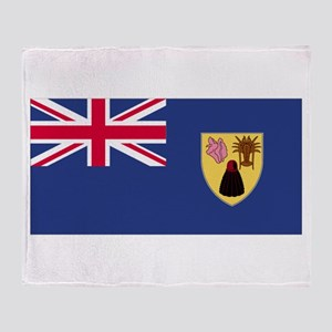 Turks & Caicos Islands Throw Blanket