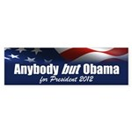 Anybody But Obama Sticker (Bumper 50 pk)