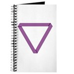 Poly Purple Mobius Journal