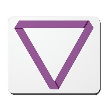 Poly Purple Mobius Mousepad
