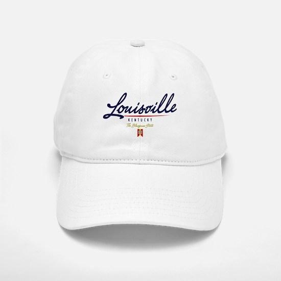 Louisville Script Baseball Baseball Cap