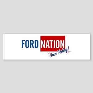 Ford Nation...Join Today! Sticker (Bumper)