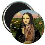 Mona Lisa's Yorkie #7 Magnet