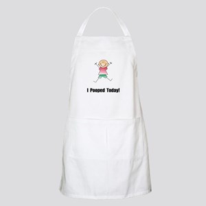I Pooped Today! Apron
