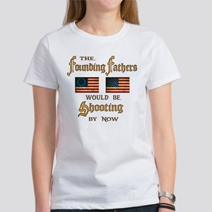 Founding Fathers Shooting Women's T-Shirt