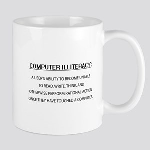 Computer Illiteracy Mug