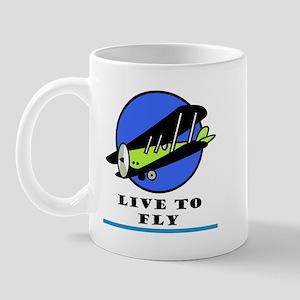 Live to Fly Mug