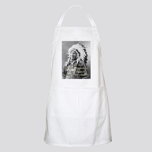 'go back to your own country' BBQ Apron