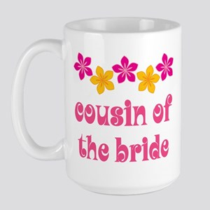 Cousin of the Bride Hawaiian Large Mug