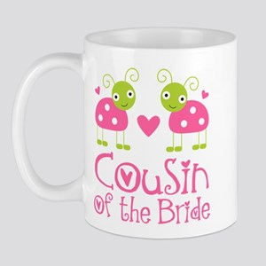 Cousin of the Bride Ladybug Mug