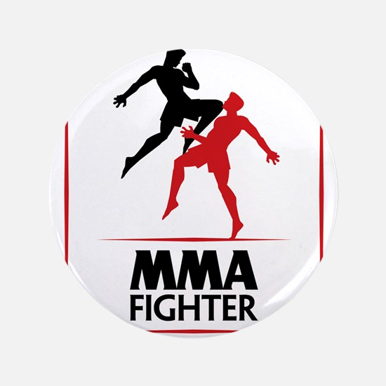 "MMA Fighter 3.5"" Button"