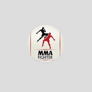 MMA Fighter Mini Button