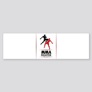 MMA Fighter Sticker (Bumper)