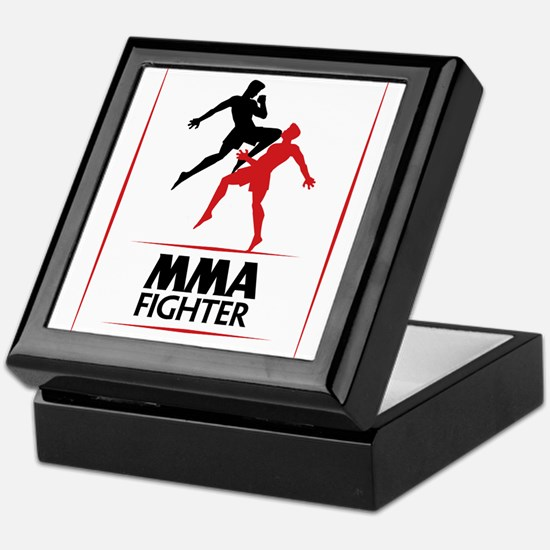 MMA Fighter Keepsake Box