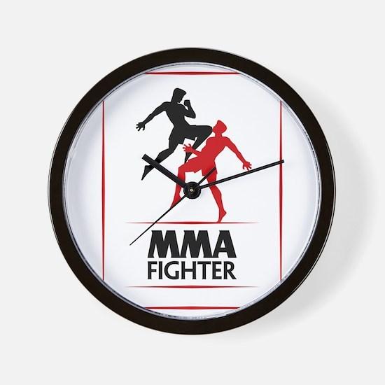 MMA Fighter Wall Clock