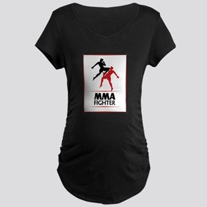 MMA Fighter Maternity Dark T-Shirt