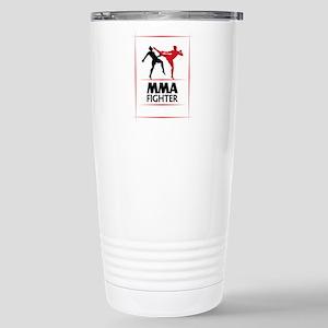 MMA Fighter Stainless Steel Travel Mug
