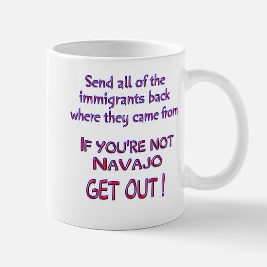 Not Navajo ? Mug