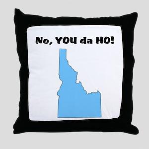 Idaho ho Throw Pillow
