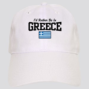 I'd Rather Be In Greece Cap
