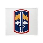 171st Infantry Throw Blanket