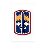 171st Infantry Sticker (Rectangle 10 pk)