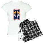 171st Infantry Women's Light Pajamas