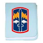 171st Infantry baby blanket
