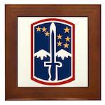 172nd Infantry Framed Tile